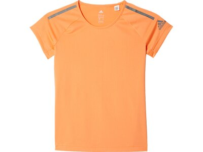 ADIDAS Kinder T-Shirt Climacool Training Braun
