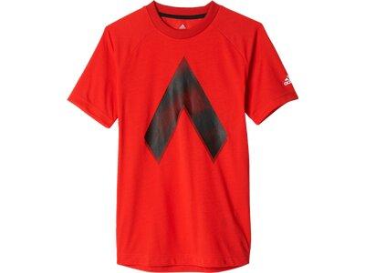 ADIDAS Kinder Trainingsshirt ACE Graphic Rot