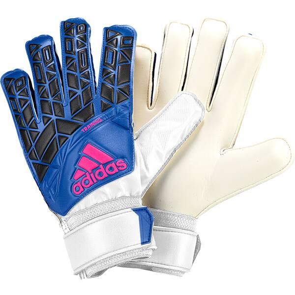 ADIDAS Herren Torwarthandschuhe ACE Training white/blue