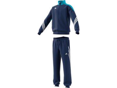 ADIDAS Kinder Sportanzug Sere 14 Trainingsanzug Blau