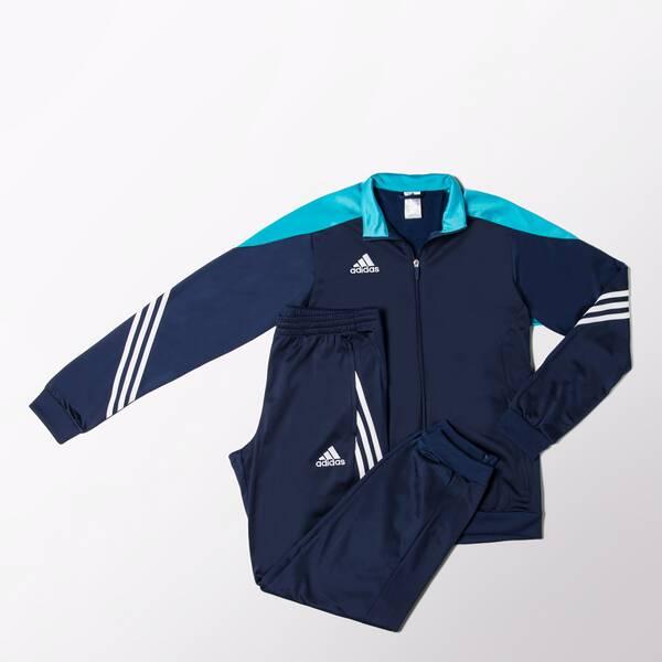 ADIDAS Herren Trainingsanzug Sere 14 | Sportbekleidung > Sportanzüge > Trainingsanzüge | White | ADIDAS
