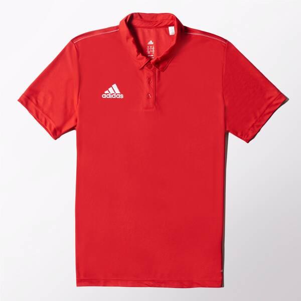 ADIDAS Herren Poloshirt Core 15 Climalite Rot
