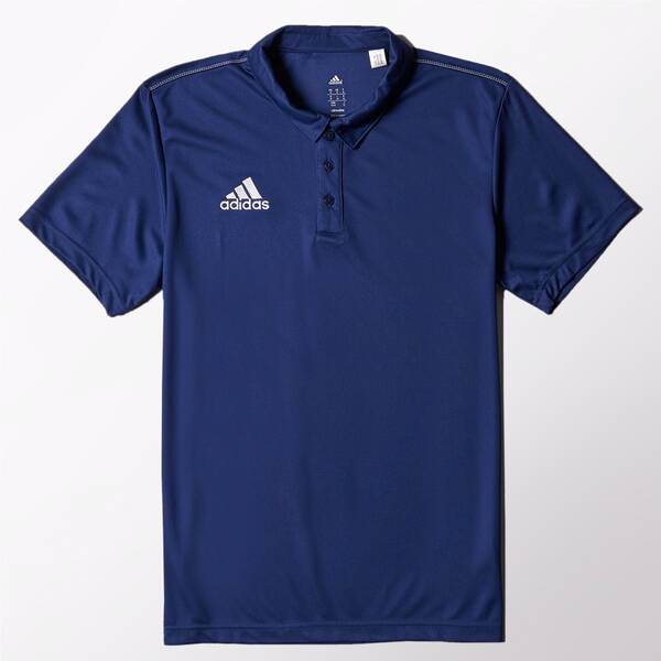 ADIDAS Herren Poloshirt Core 15 Climalite Blau
