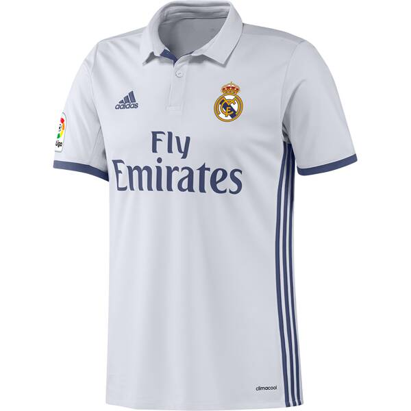 ADIDAS Herren Fußball-Trikot Real Madrid Heim Replica