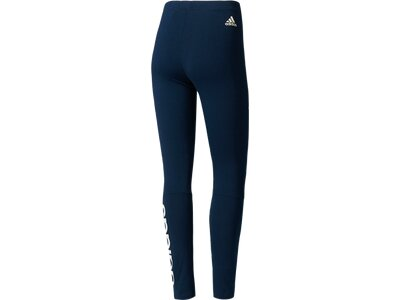 ADIDAS Damen Trainingstights / Fitnesshose Essentials Linear Braun