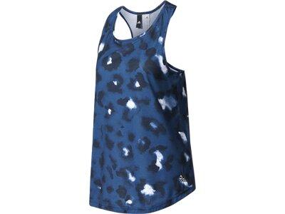 ADIDAS Damen Tanktop Essentials Go Grrrl Loose Blau