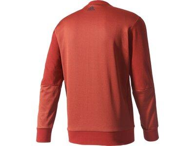 ADIDAS Herren Shirt Sweatshirt Rot