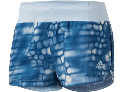 ADIDAS Damen Supernova Glide Graphic Shorts Blau