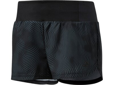ADIDAS Damen Supernova Glide Graphic Shorts Grau
