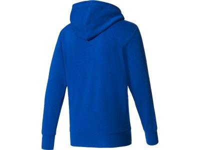 """ADIDAS Herren Sweatshirt mit Kapuze """"Essentials Linear Pullover Hood French Terry"""" Blau"""