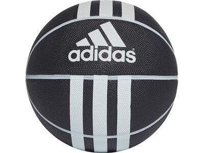 ADIDAS 3-Streifen Rubber X Basketball Silber