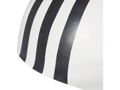 ADIDAS 3-Stripes Badekappe aus Silikon Grau