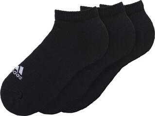 ADIDAS  3-Streifen Sneakersocken, 3 Paar