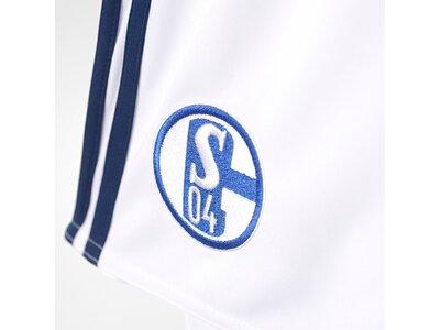 ADIDAS Herren Schalke 04 Heimshorts Replica Grau