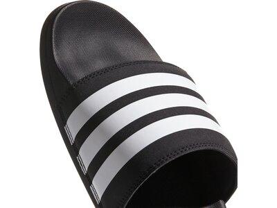 adidas Herren Schwimmen Sport Adiletten Hausschuhe Schwarz