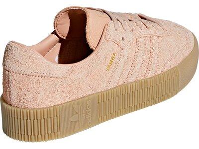ADIDAS Damen Sneaker SAMBAROSE W Braun