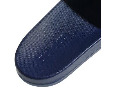 adidas Herren Cloudfoam Plus Logo Adilette Blau