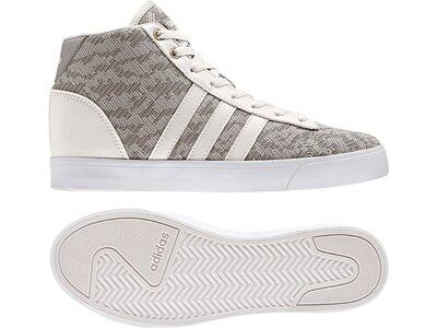 ADIDAS Damen Sneaker Cloudfoam Silber