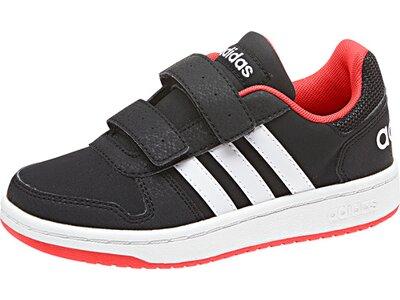 ADIDAS Kinder VS Hoops 2.0 Schuh Schwarz
