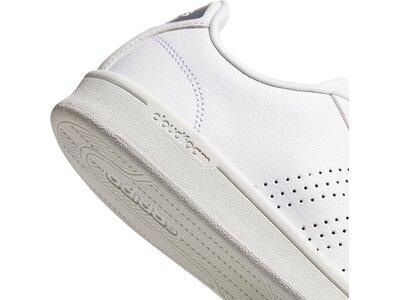 ADIDAS Damen Cloudfoam Advantage Clean Schuh Grau