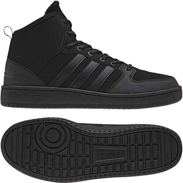 separation shoes f209f 0e9dd ADIDAS Herren Freizeitschuhe CF HOOPS MID WTR CBLACK CBLACK UTIBLK