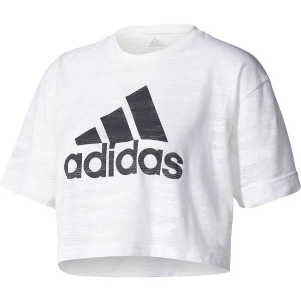 ADIDAS Damen Shirt AEROKNIT CROP T