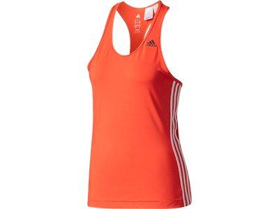 ADIDAS Damen T-Shirt D2M TANK 3S Rot