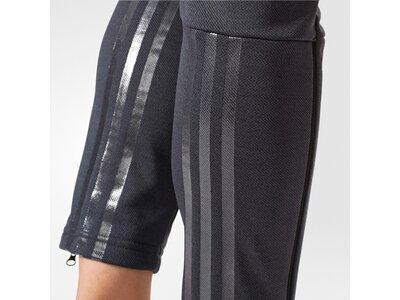 ADIDAS Damen Sporthose TWILL SKINNY PT Schwarz