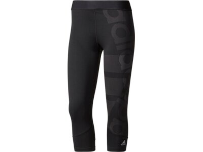 ADIDAS Damen Tight TF Schwarz