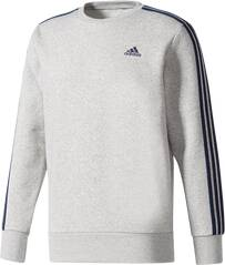ADIDAS Herren Sweatshirt Essentials 3-Stripes Crew Fleece
