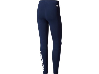 ADIDAS Damen Lauftight Essentials Linear Schwarz