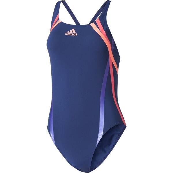 Bademode - ADIDAS Damen Badeanzug REG SWIM INF pink › Blau  - Onlineshop Intersport