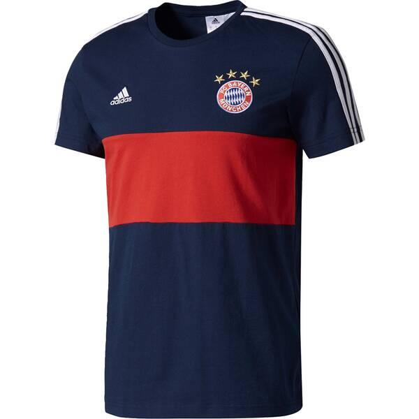 ADIDAS Herren Shirt FCB 3S TEE A Blau