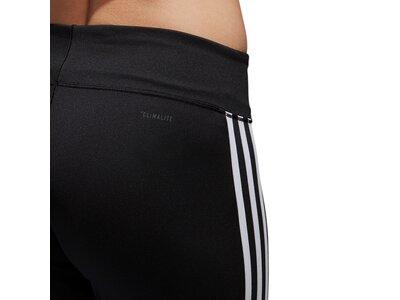 ADIDAS Damen Sporthose BRUSHED 3S PANT Schwarz