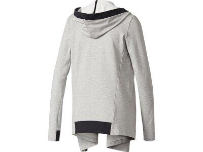 ADIDAS Damen Sweatshirt WRAP ME UP Silber