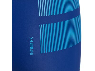ADIDAS Kinder Badehose fitness boxer colourblock 3 stripes boys Blau