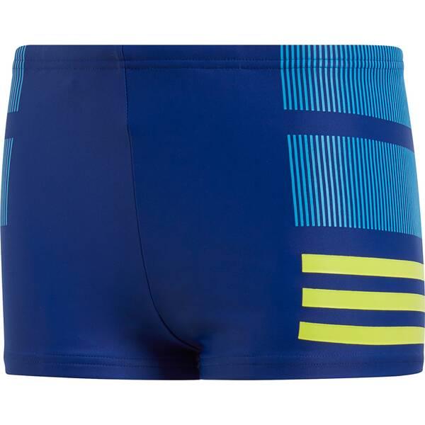 ADIDAS Kinder Badehose fitness boxer colourblock 3 stripes boys