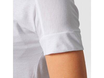 ADIDAS Damen Shirt BASELINE TEE Weiß