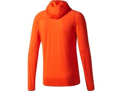 ADIDAS Herren Kapuzensweat TRACEROCK HO FL Orange