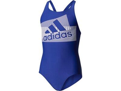 ADIDAS Kinder Badeanzug BTS PER LOG 1PC Blau