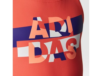 ADIDAS Kinder Badeanzug BY LINEAGE SUIT Orange