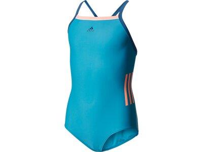 ADIDAS Kinder Badeanzug BY 3S CB SUIT Blau