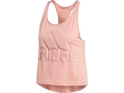 ADIDAS Damen Shirt W SID Crop Tank Pink