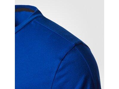 ADIDAS Herren T-Shirt Tentro Prmt Blau
