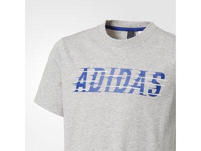 ADIDAS Kinder T-Shirt Tastot Graphic Silber