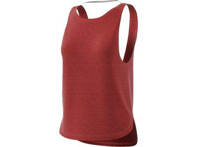 ADIDAS Damen Shirt Prime Low Back Braun