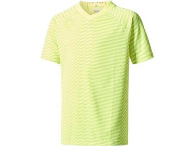 ADIDAS Kinder T-Shirt X JERSEY gelb Grün