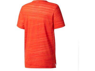 ADIDAS Kinder Shirt YB AERO TEE Rot