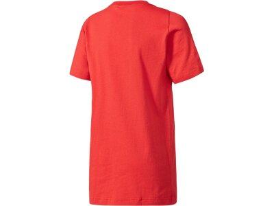 ADIDAS Kinder T-Shirt YB Logo Rot