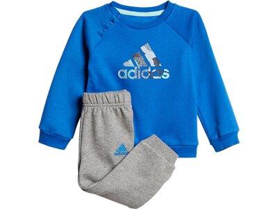 ADIDAS Kinder Sportanzug Sports Logo Jogger Blau